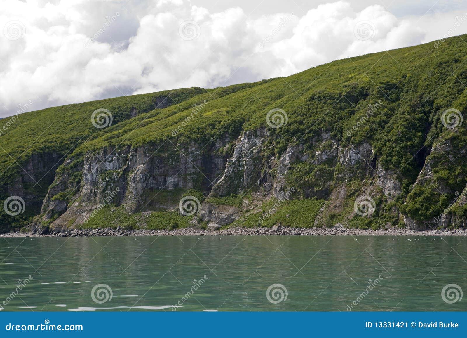 Alaska linia brzegowa Pacific niewygładzony