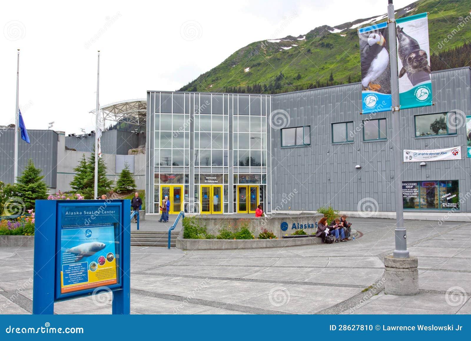 Alaska - Seward Alaska Sea Life Center 2 Editorial Image - Image ...