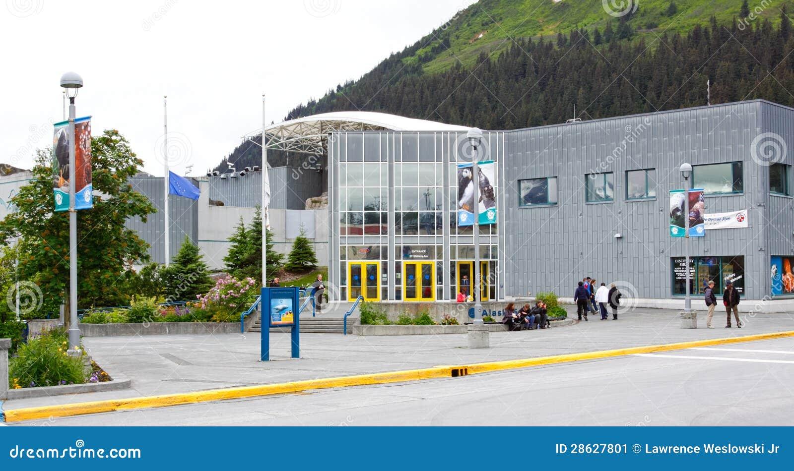 Alaska - Seward Alaska Sea Life Center