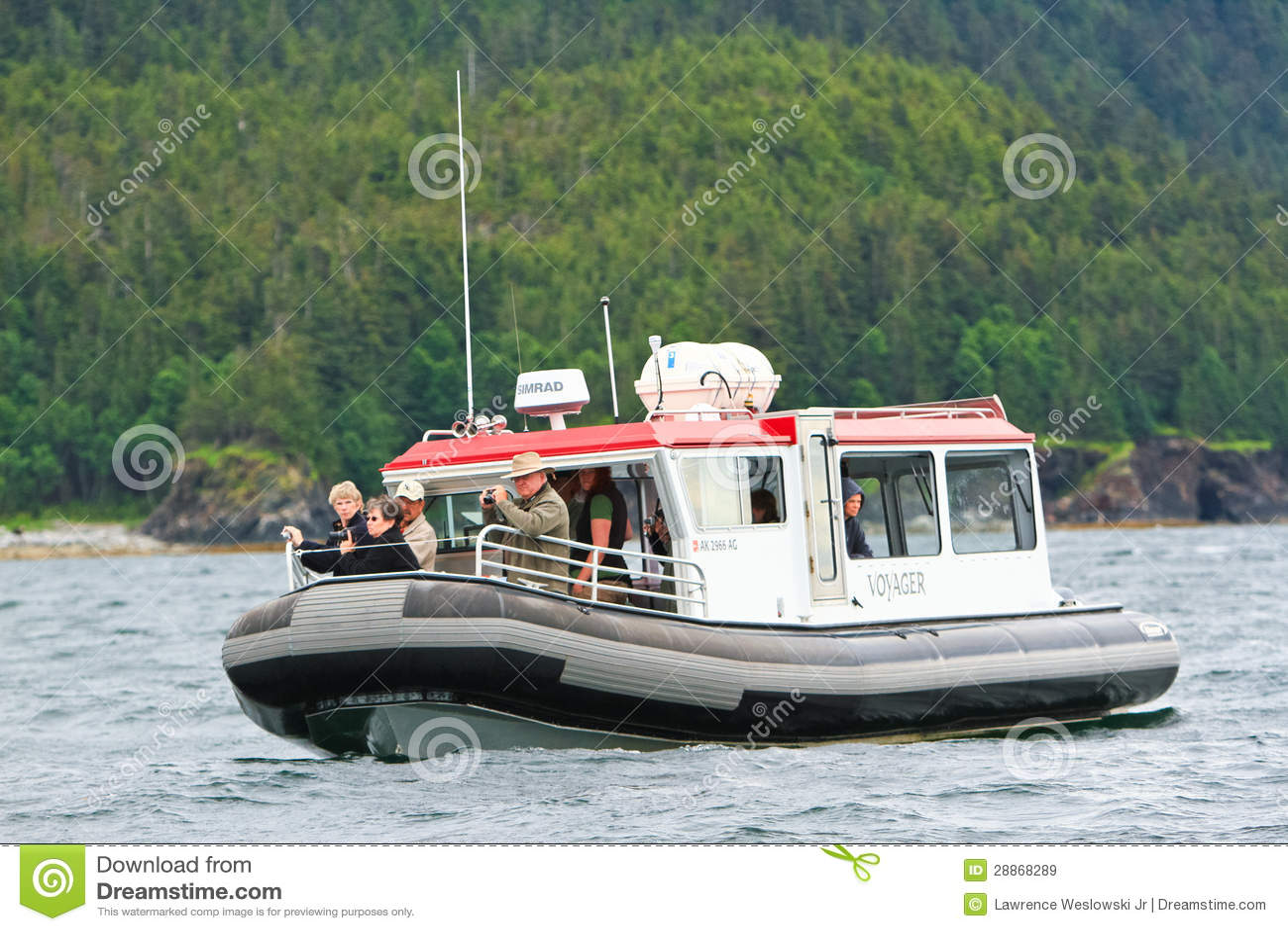 Alaska Whale Watching Boat Auke Bay Juneau Editorial Photo Cartoondealer Com 28868331