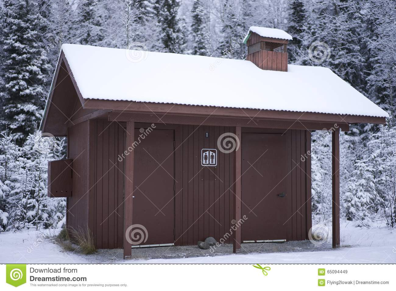 Alaska State Park Public Bathroom Editorial Stock Image Image - Outhouse bathroom