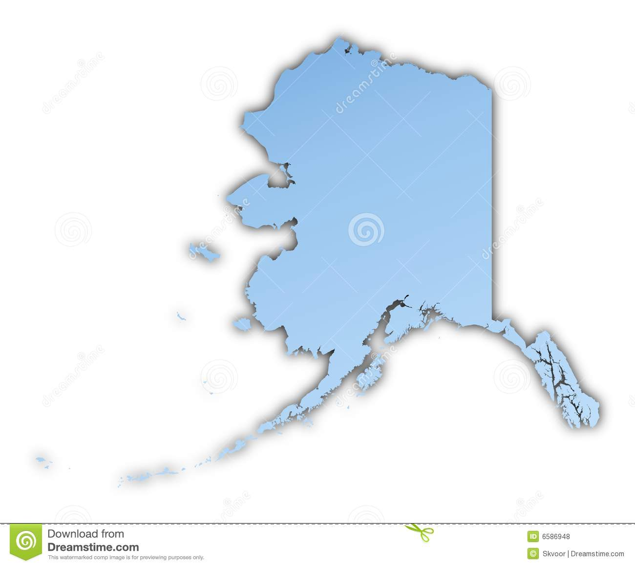 Alaska Map Royalty Free Stock Photo Image - Alaska map usa