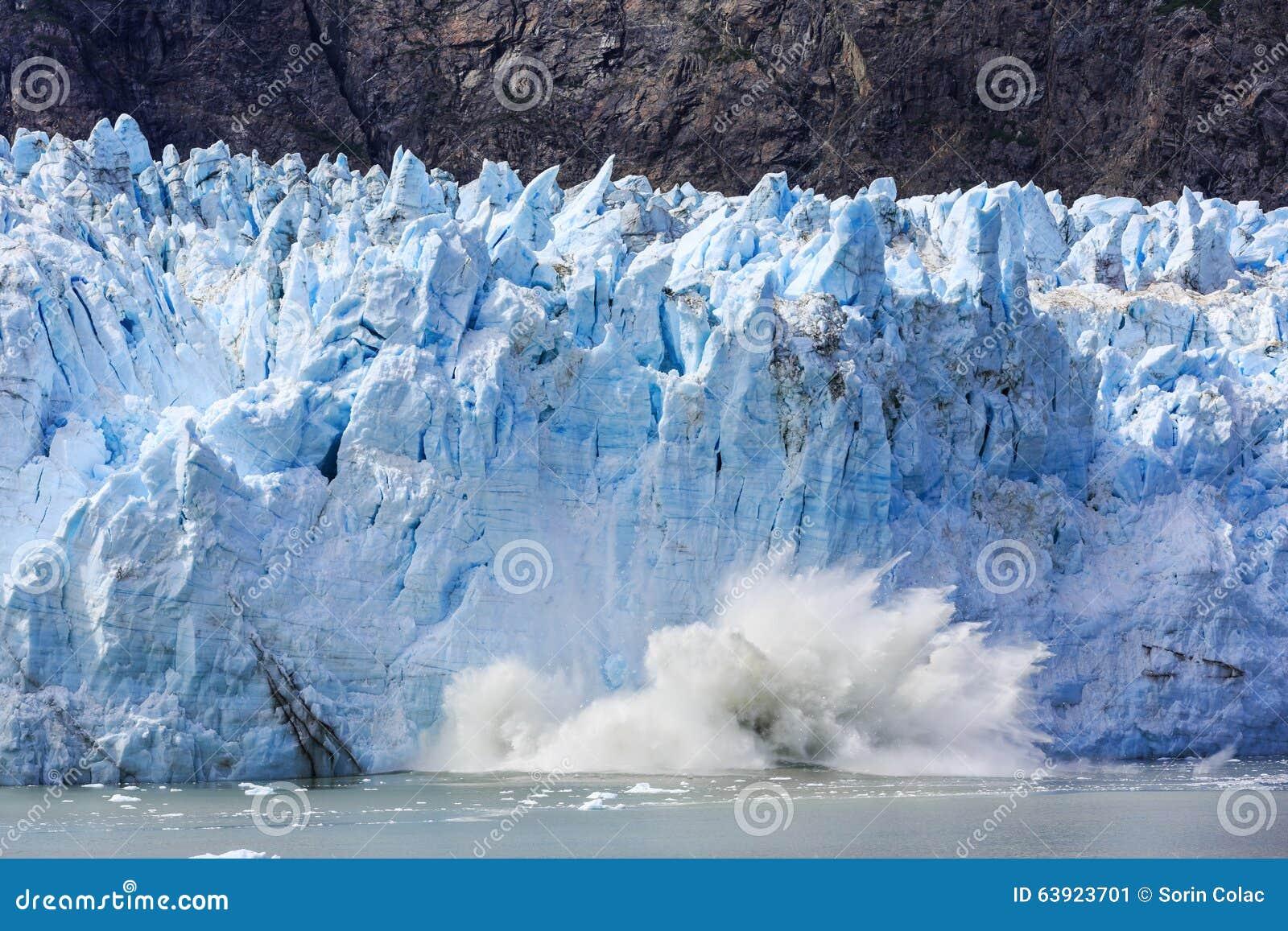 Alaska zatoki lodowiec