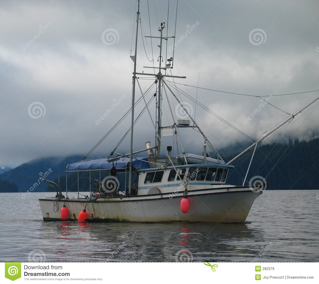 Alaskan fishing boat stock image image of buoy hunt for Alaska fishing boats
