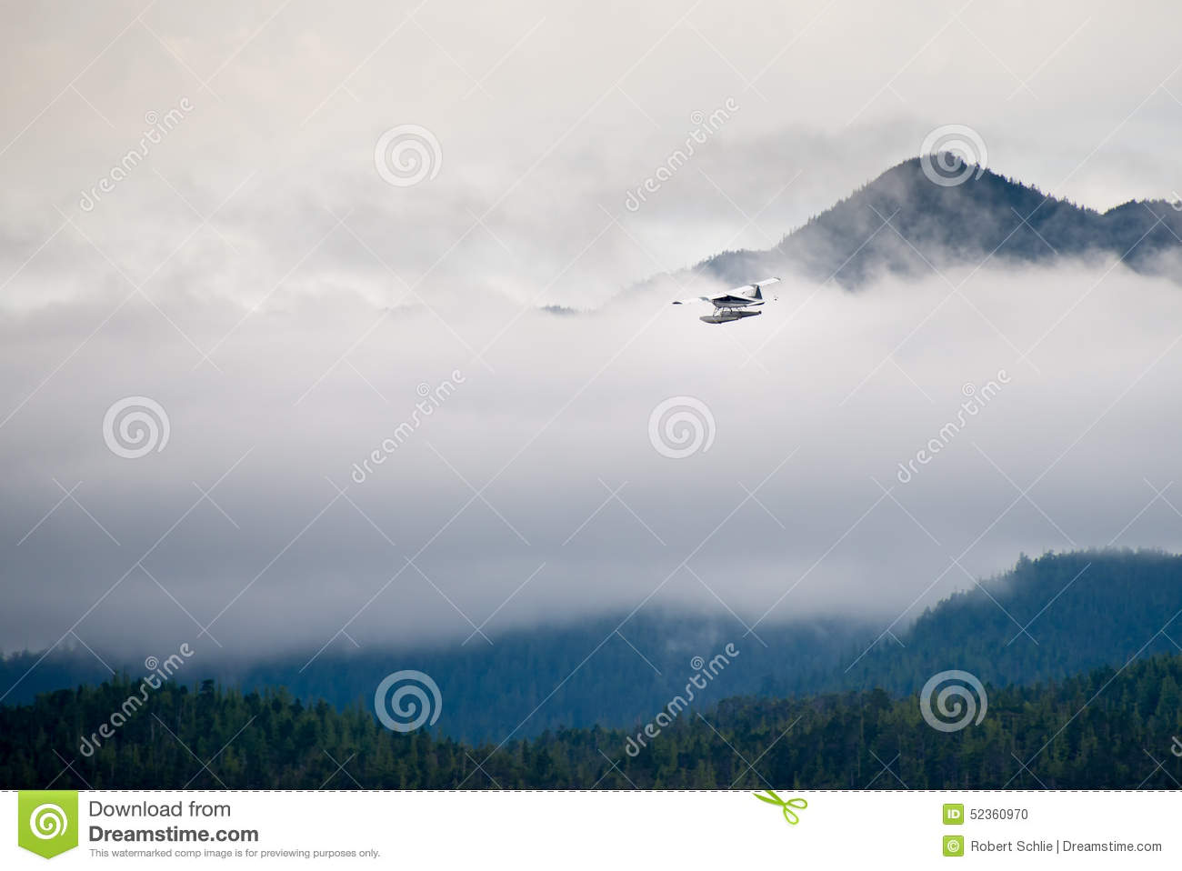 plane clouds and mountains - photo #48