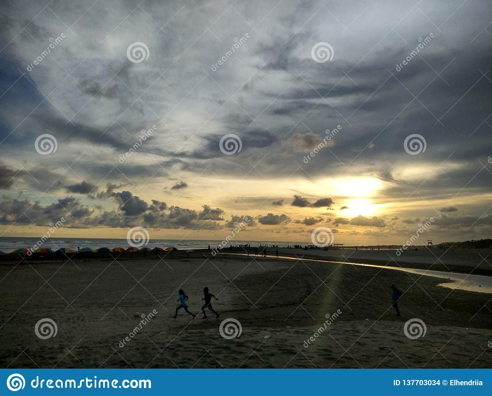 Alba ad Amal Beach Tarakan City, Indonesia