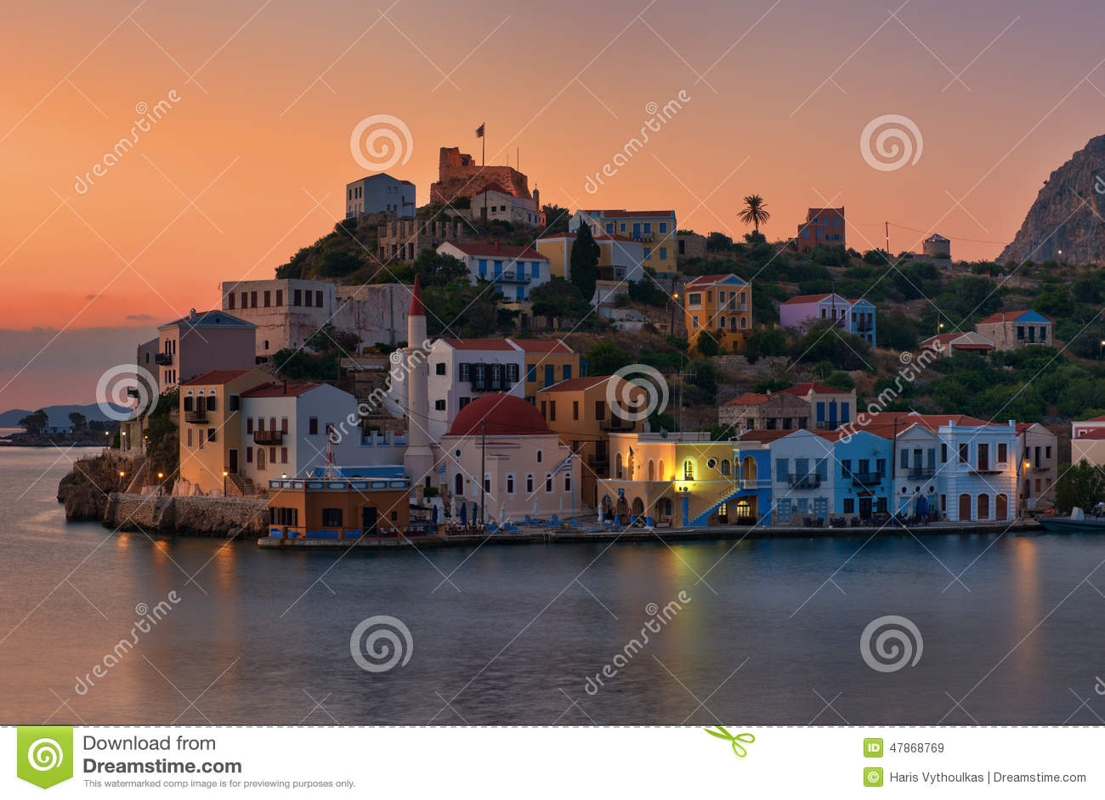 Alba di Kastellorizo, isola greca a dodecanese
