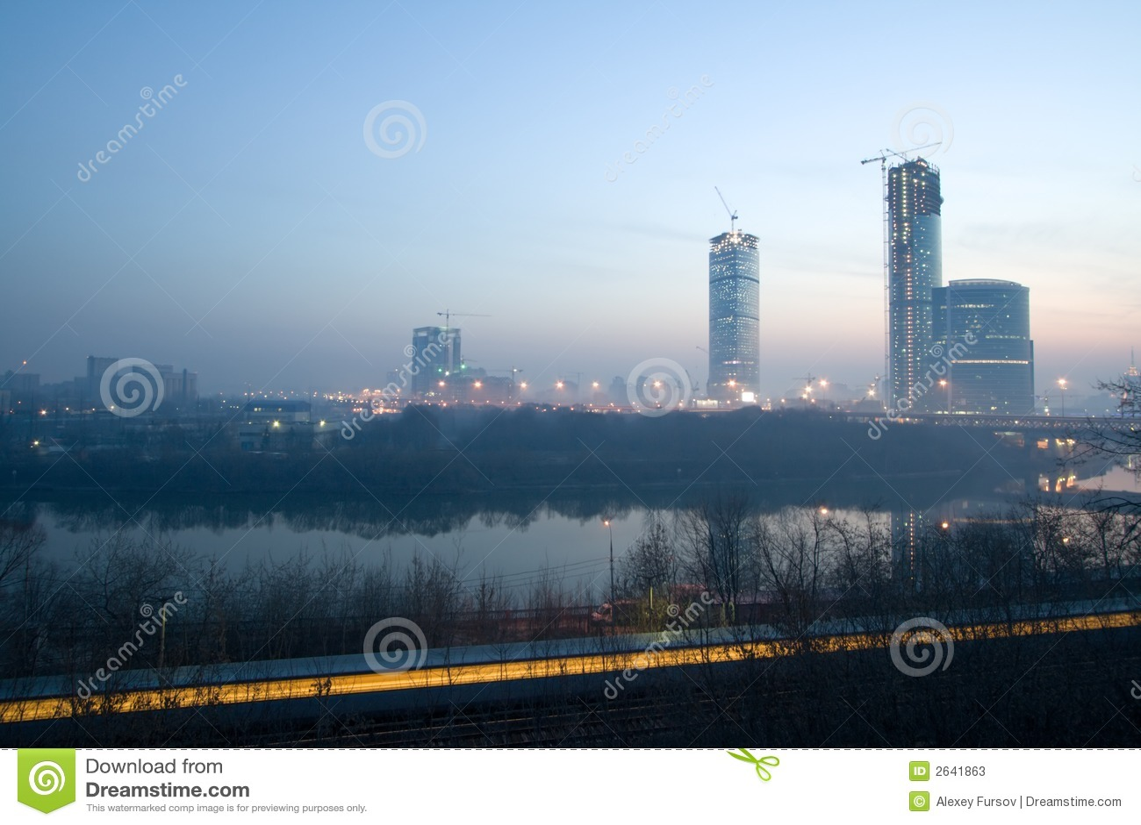 Alba a Mosca