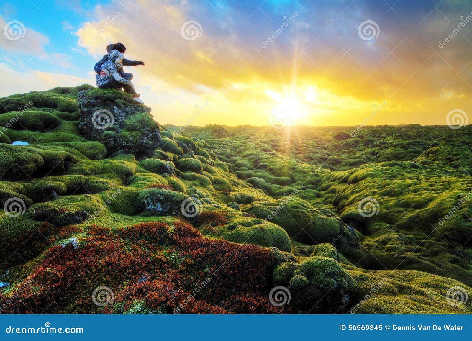 Alba romantica Islanda