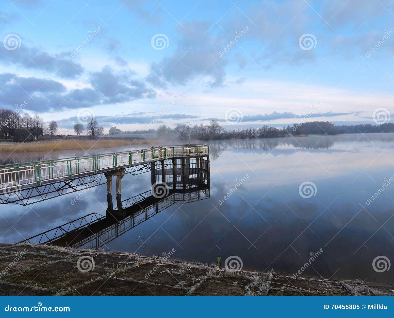 Alba vicino ad umidità, Lituania