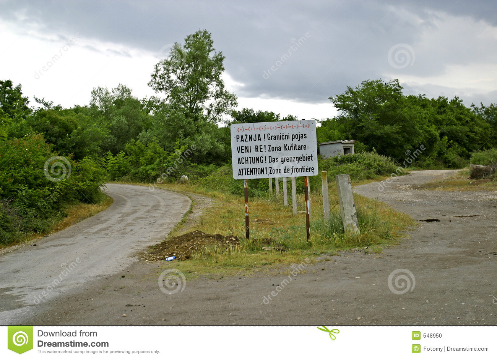 Albania crossinggräns montenegro