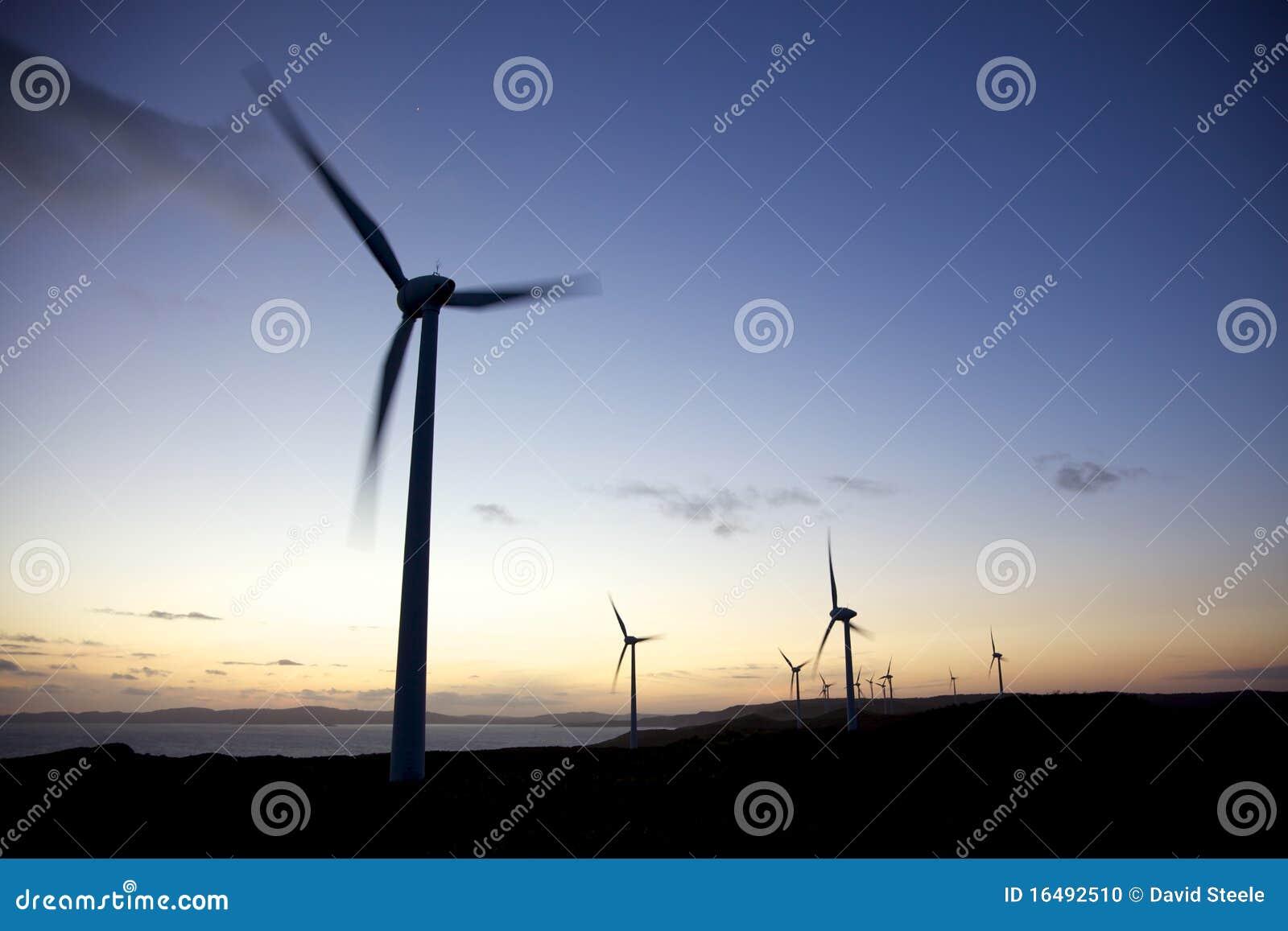 Albanien-Wind-Bauernhof