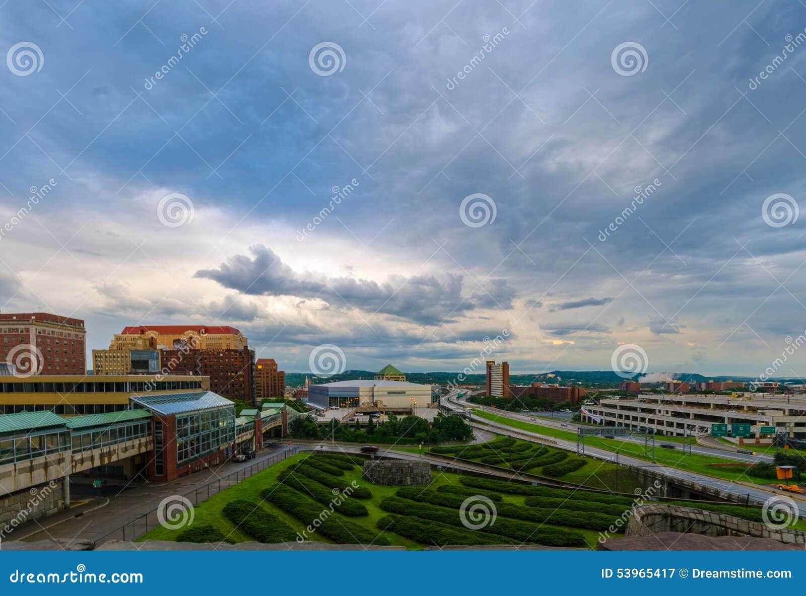 Albany, paysage urbain de NY