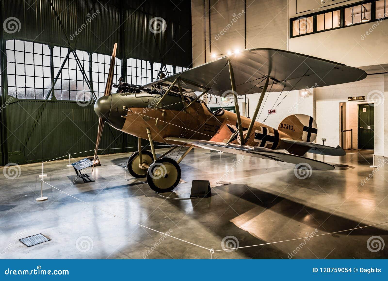 Albatros D VA-Replik bei RAF Museum