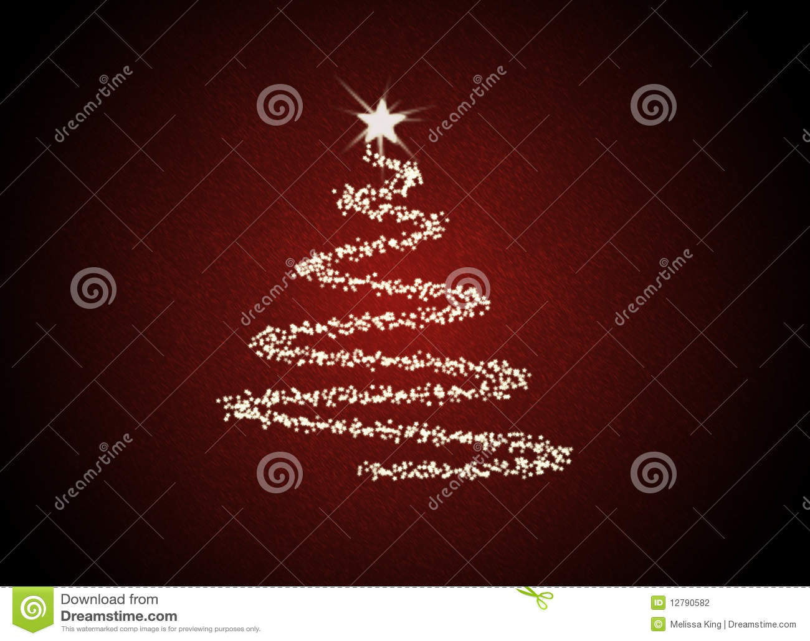 Albero astratto di Christmast