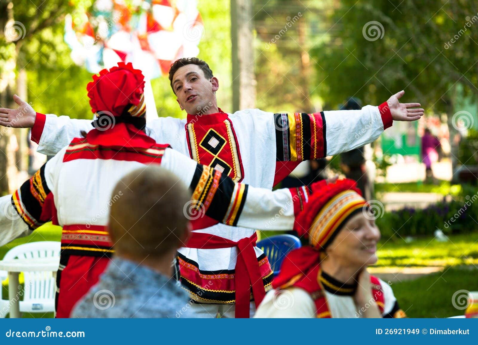 Albero della vita nazionale della cultura di Vepsian di festa