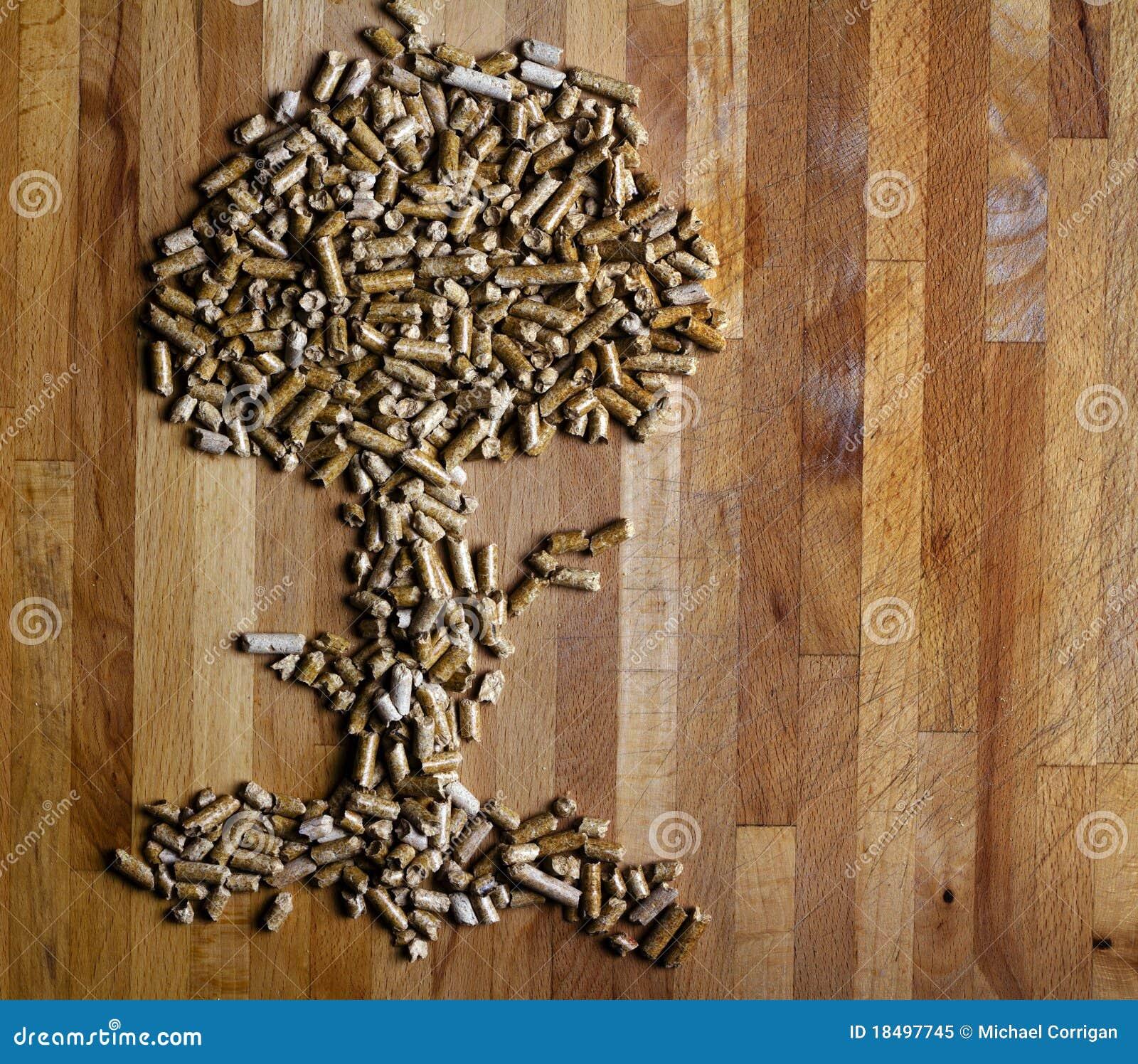 Albero di legno della pallina