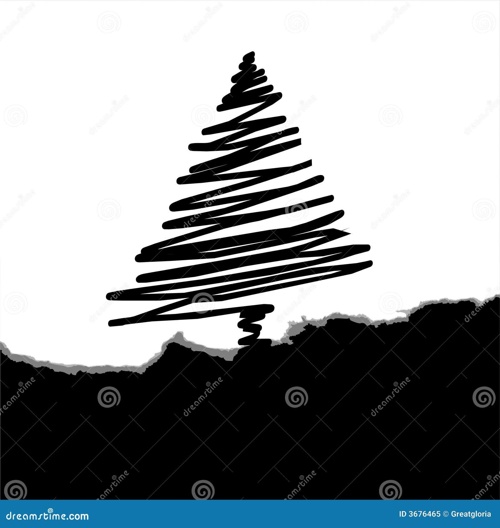 Download Albero di Natale illustrazione vettoriale. Illustrazione di bellezza - 3676465