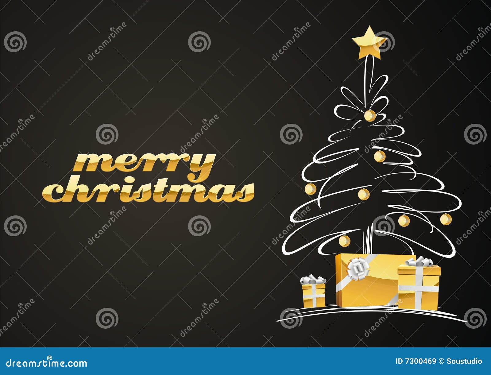 Albero di Natale con i regali