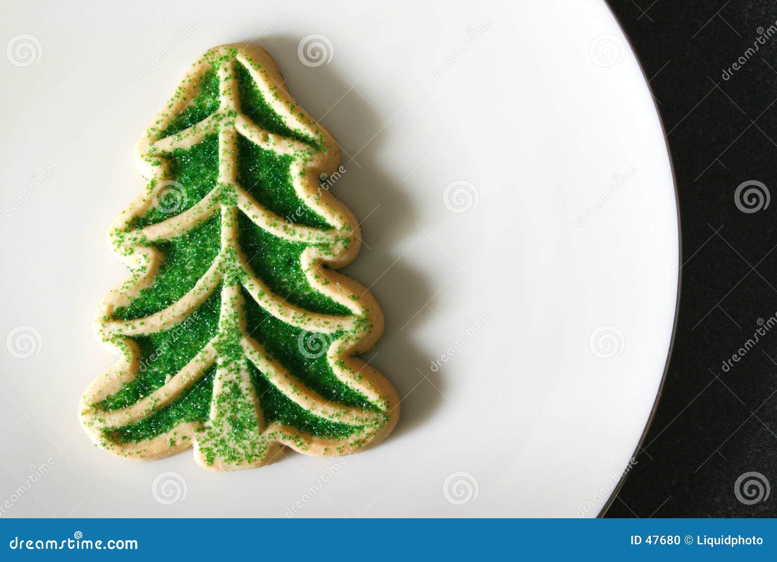 Albero di Natale del biscotto di zucchero