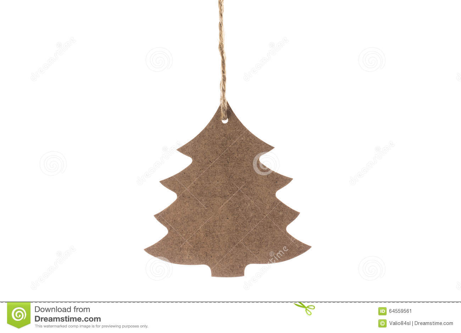 Decorazioni In Legno Per Albero Di Natale : Albero di natale di legno con la stella per la decorazione isolata