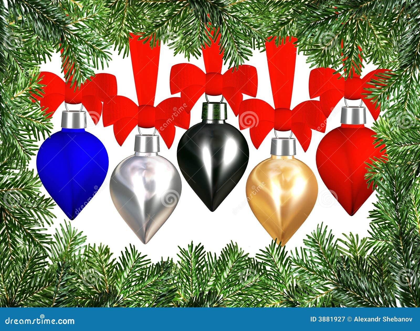 Albero di Natale di natale della bagattella