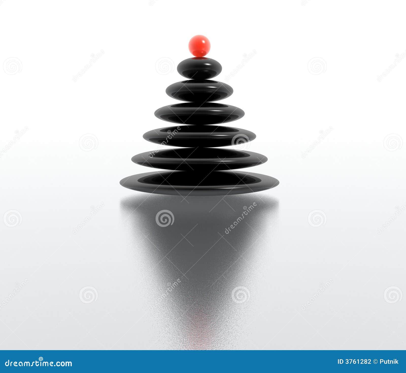Immagini Natale Zen.Albero Di Natale Di Zen Illustrazione Di Stock Illustrazione Di Natale 3761282