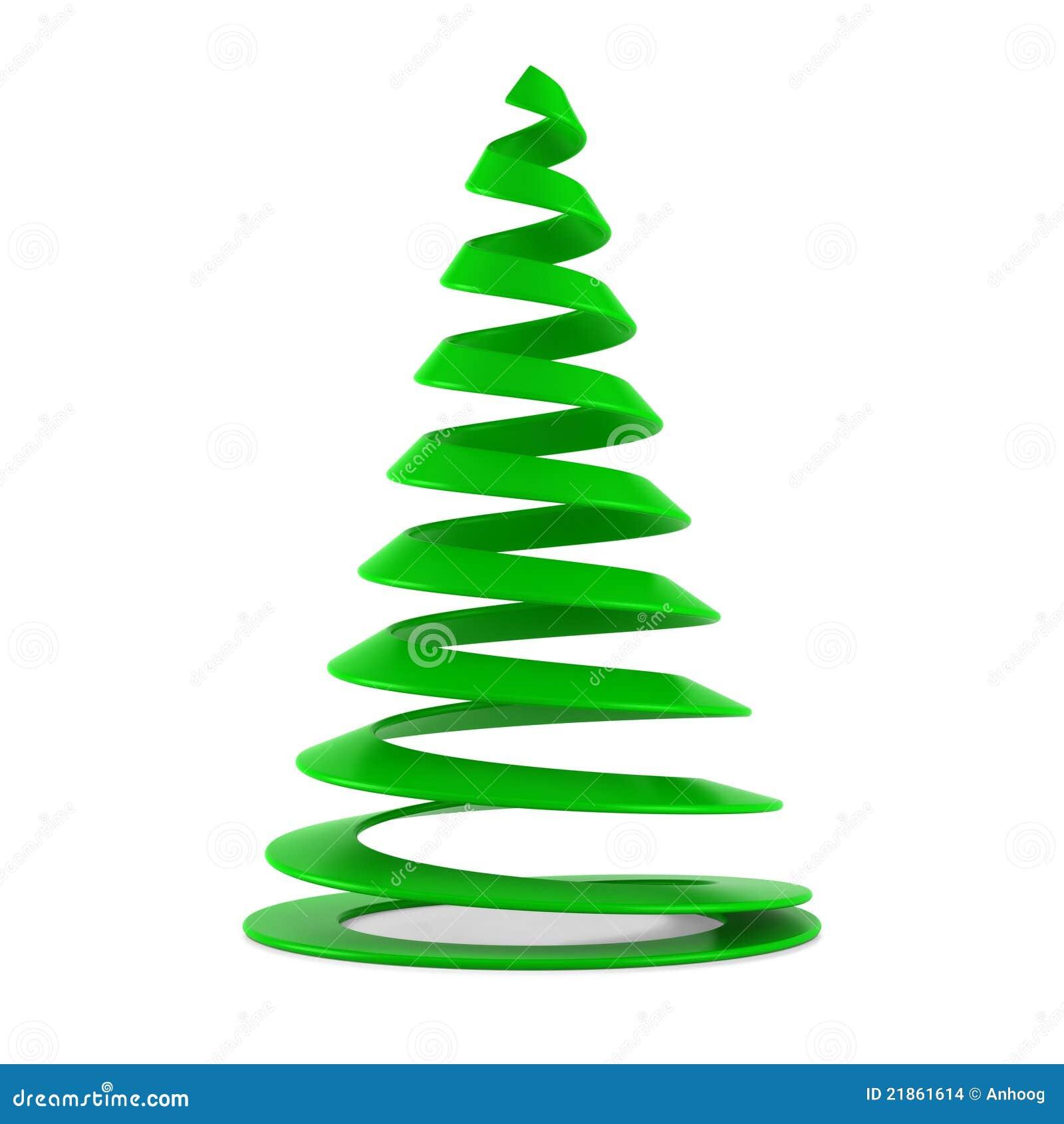 Albero di natale stilizzato in plastica verde immagini for Albero natale stilizzato