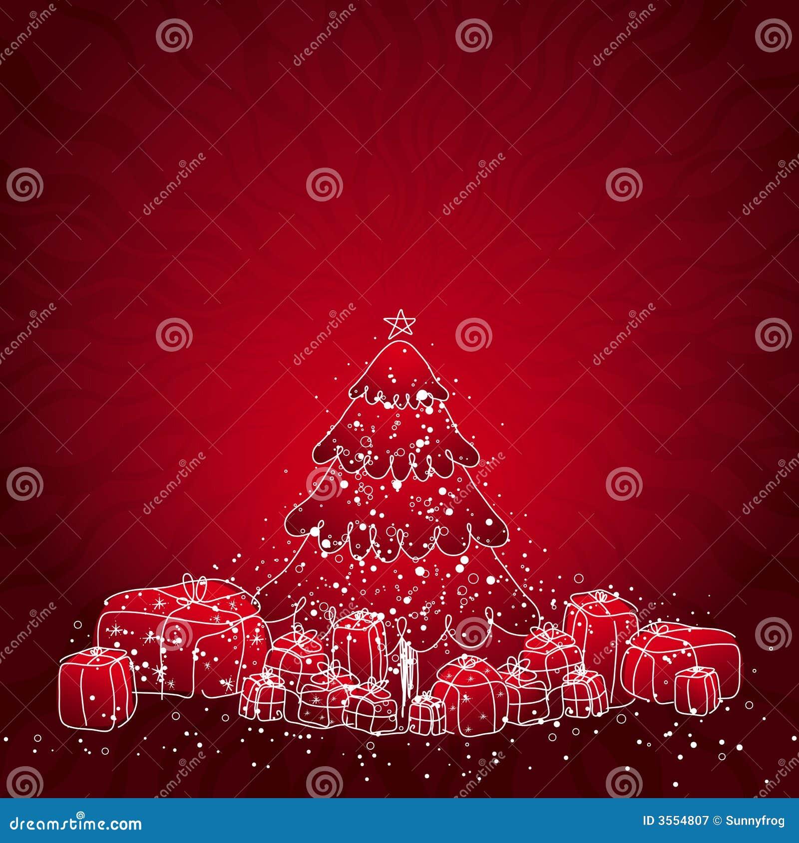 Albero di Natale, vettore