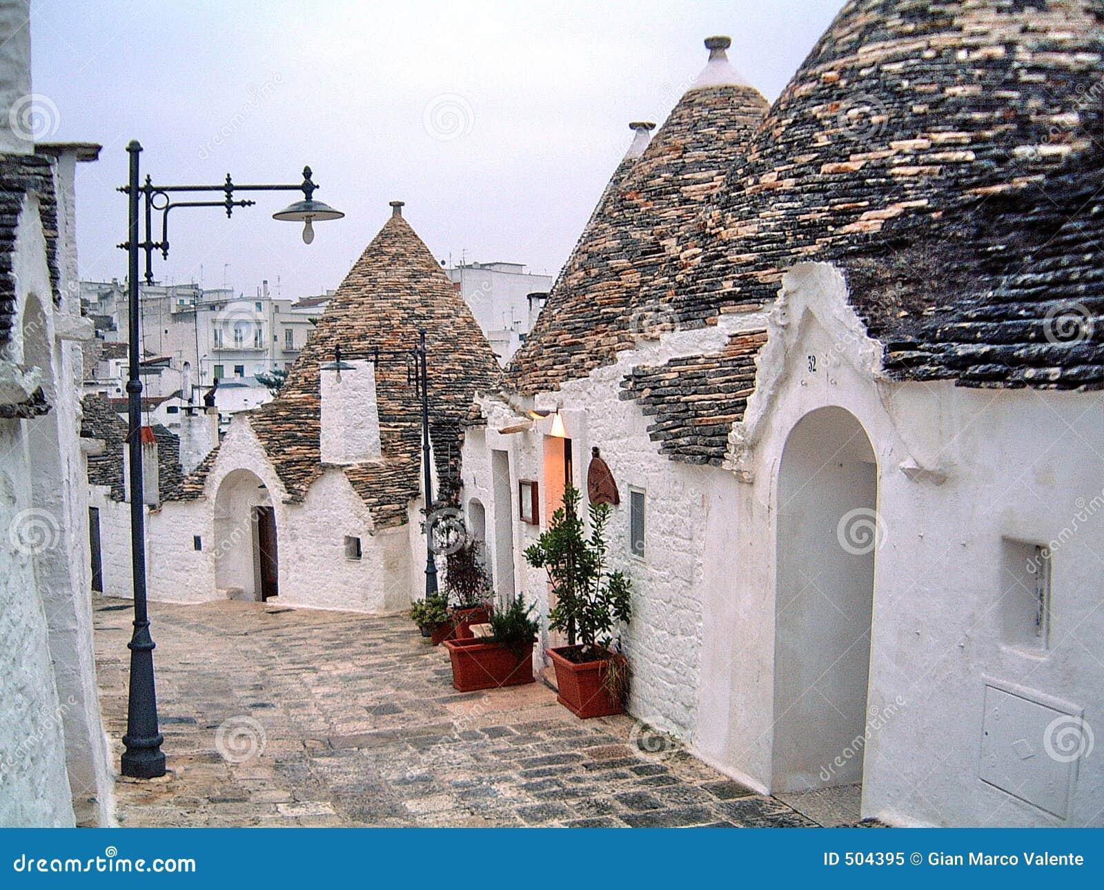 Alberobello расквартировывает trulli