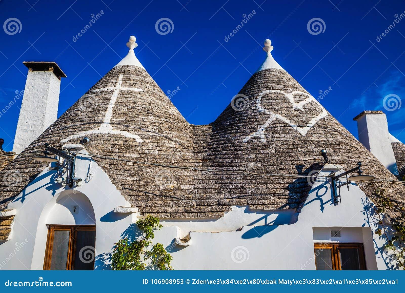 Alberobello Z Trulli domami - Apulia, Włochy