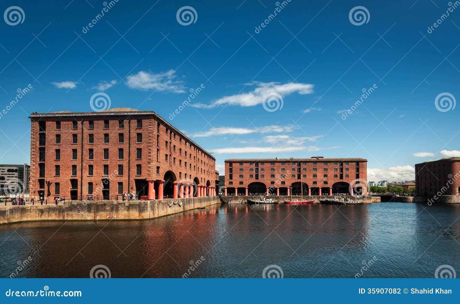 Download Albert Docks Liverpool stock photo. Image of dockside - 35907082