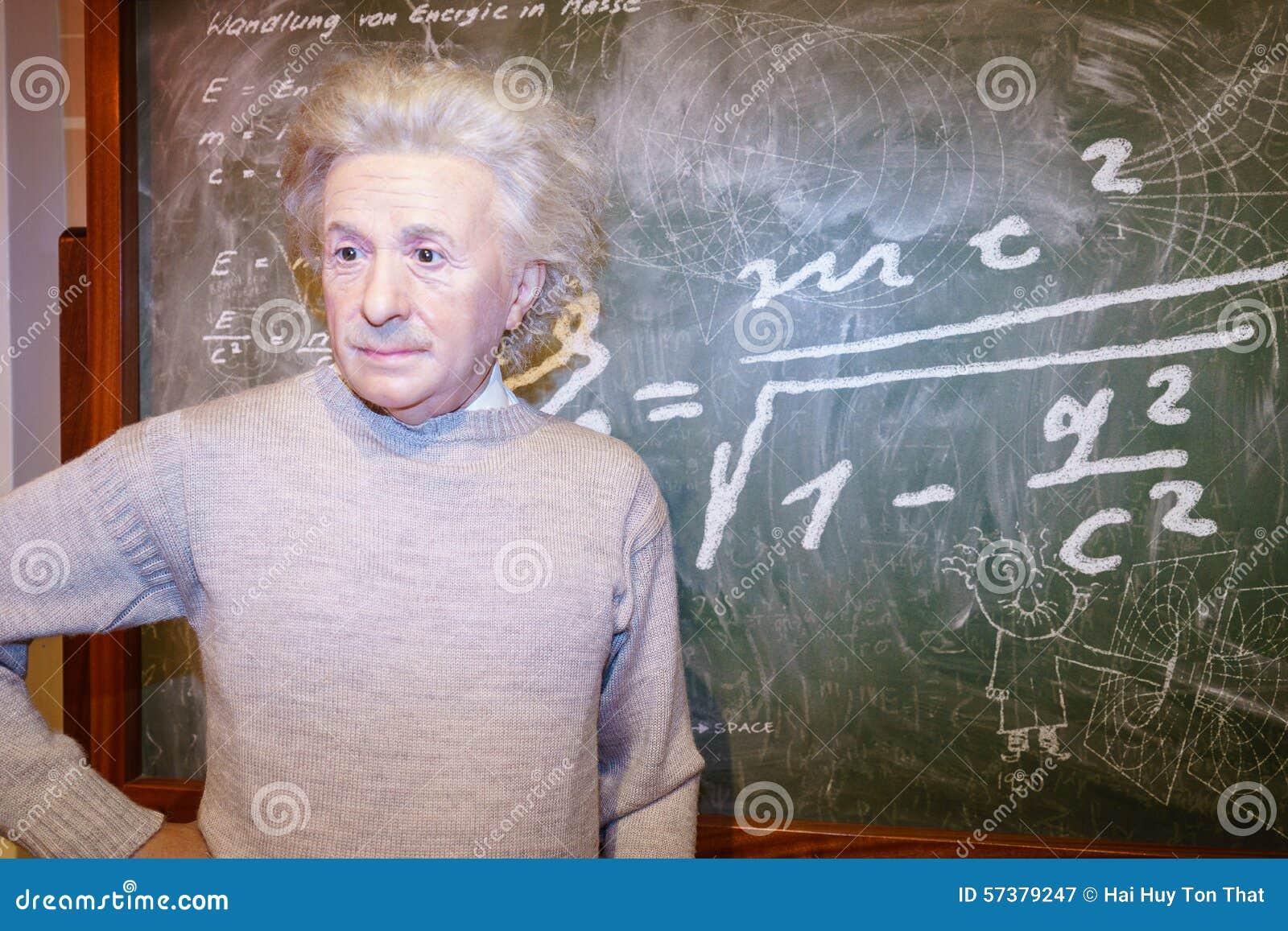 Albert Einstein bij Mevrouw Tussaud s