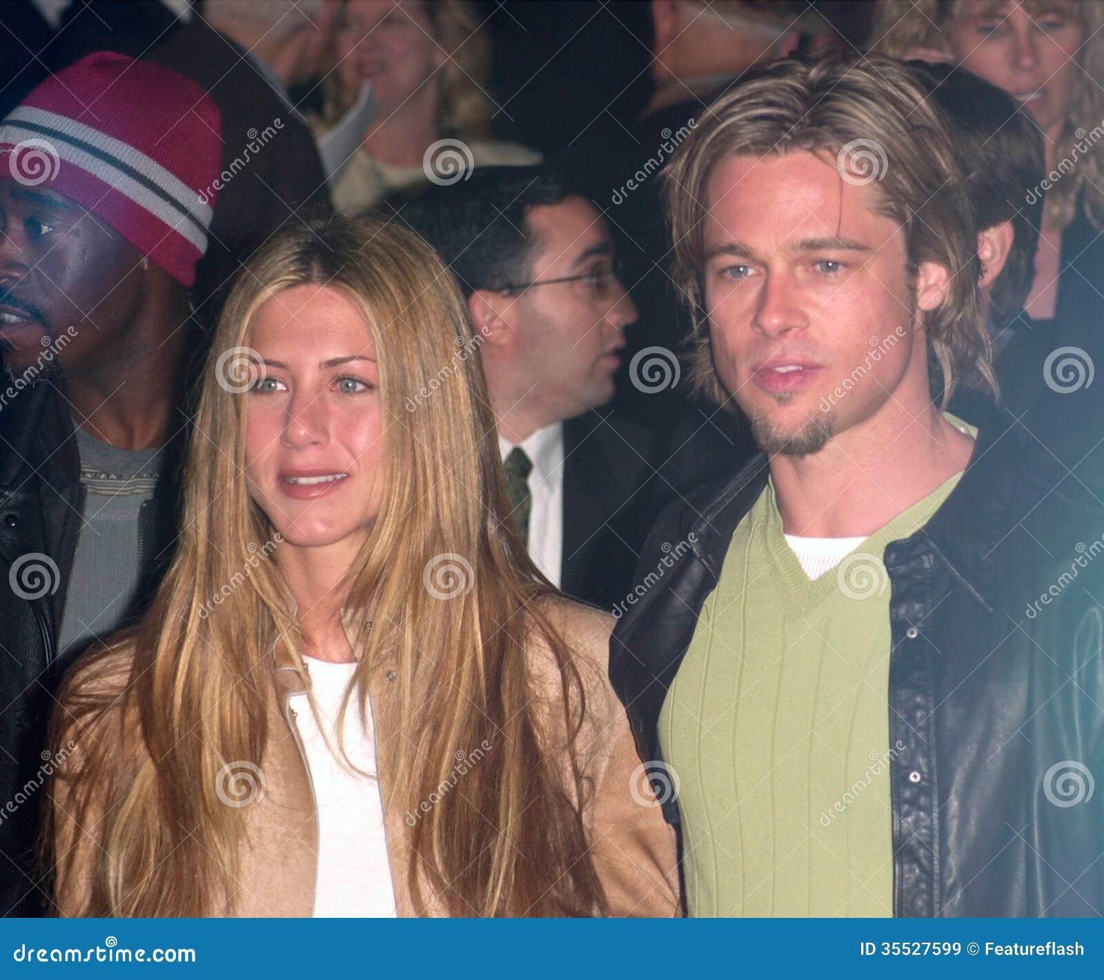 Brad Pitt Jennifer Aniston Editorial Stock Image Image Of