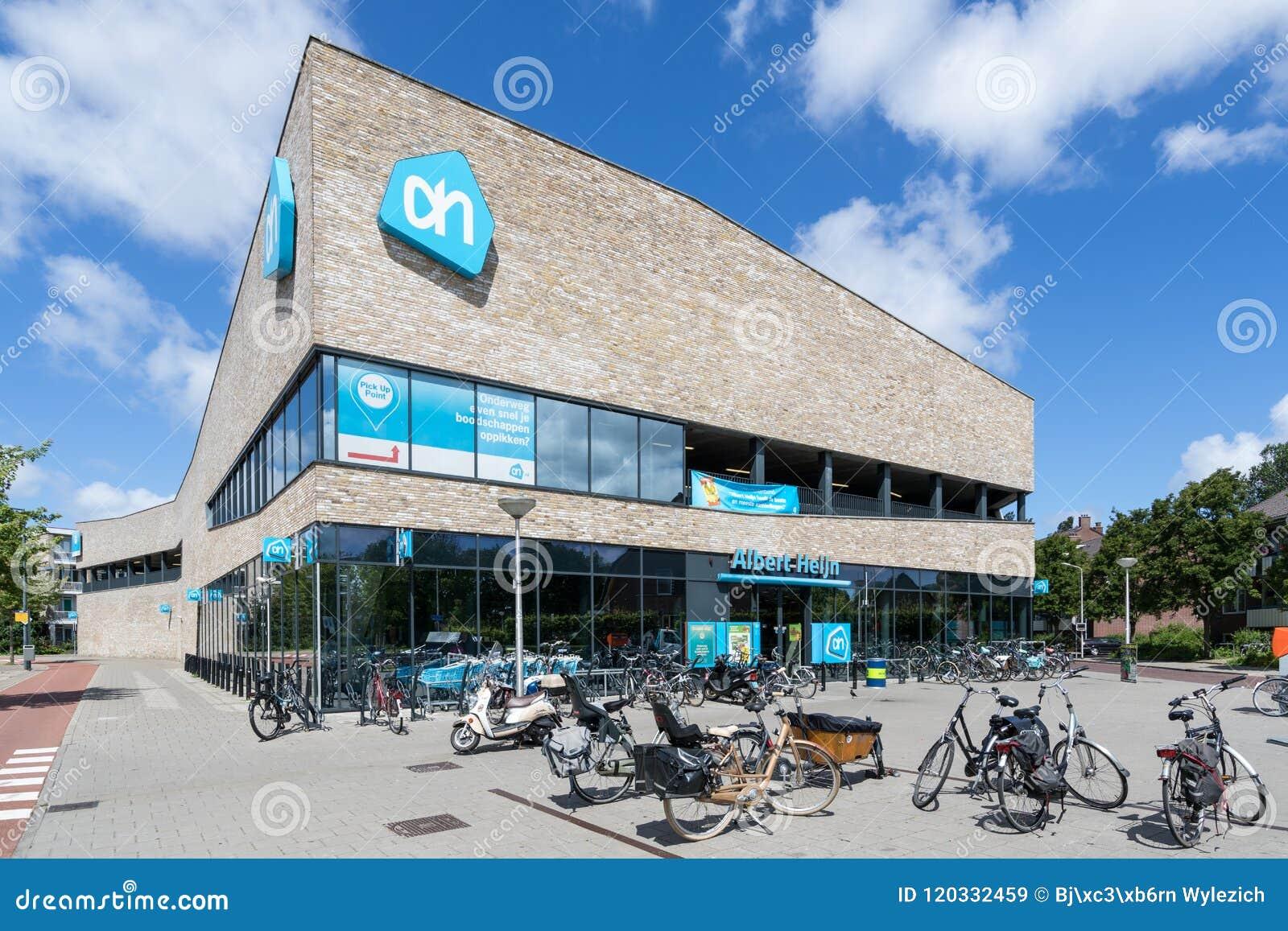 Albert Heijn supermarket in Delft, Netherlands