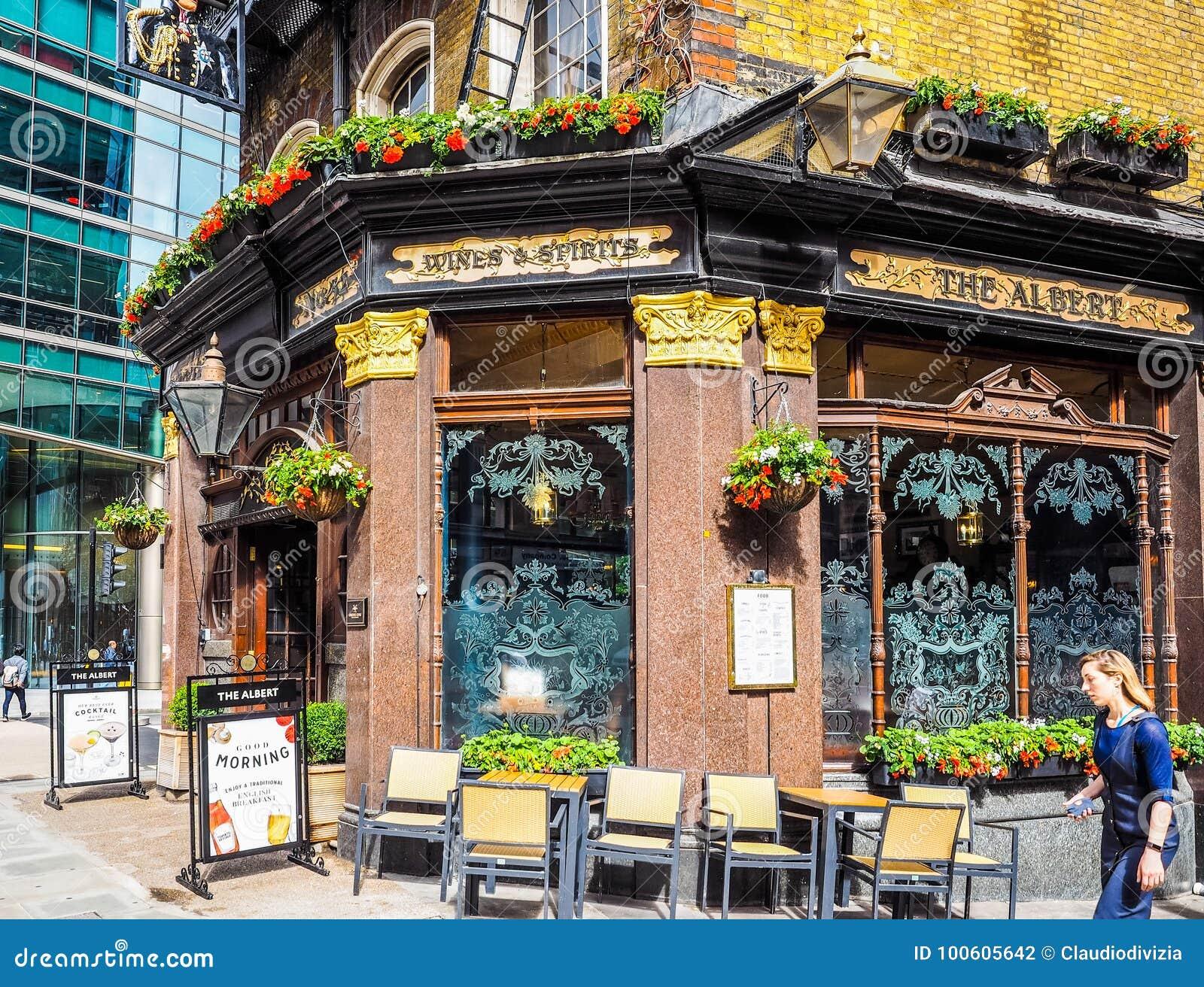 Albert Pub in Londen, hdr