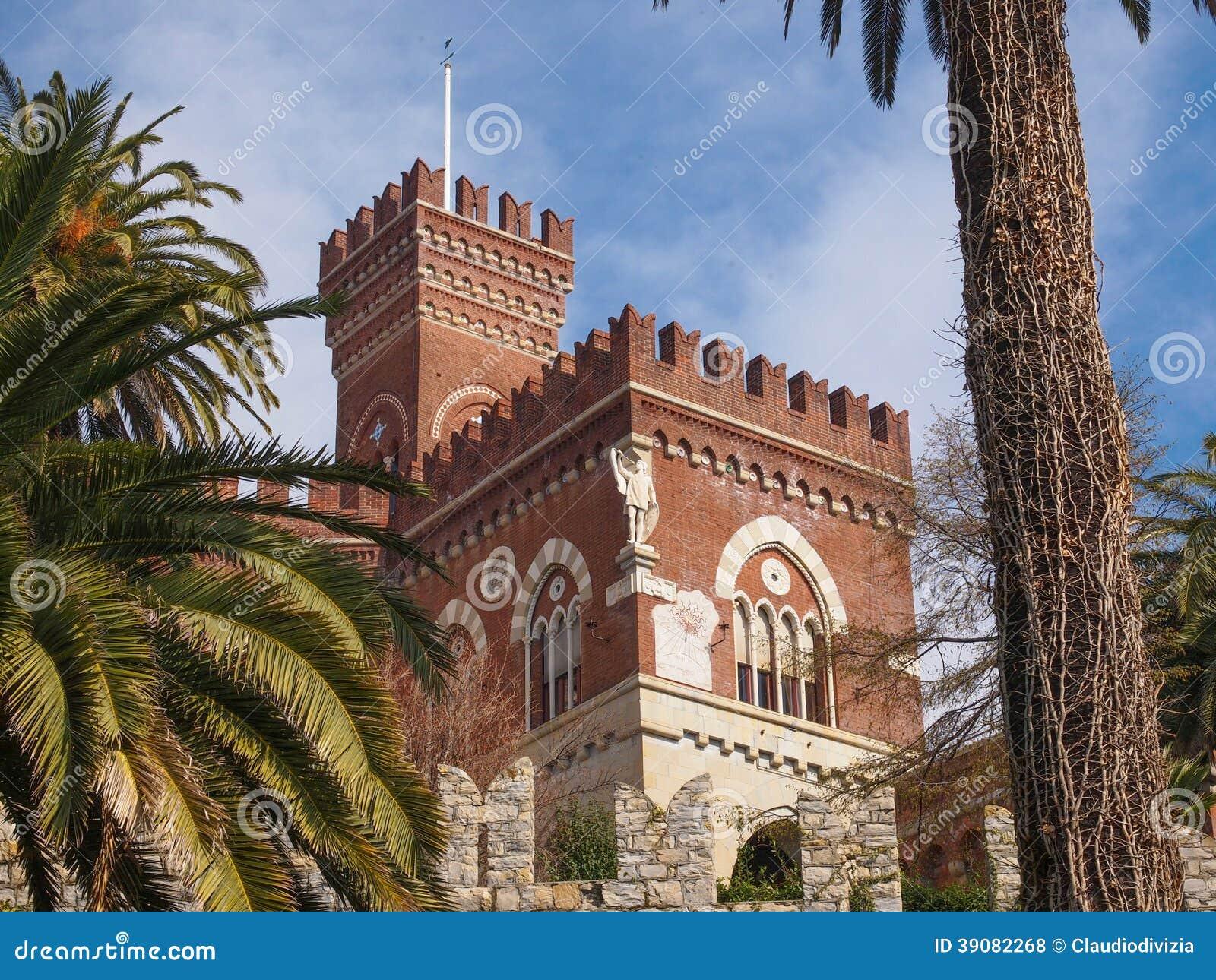Castello D Albertis Gothic Revival Castle In Genoa Italy