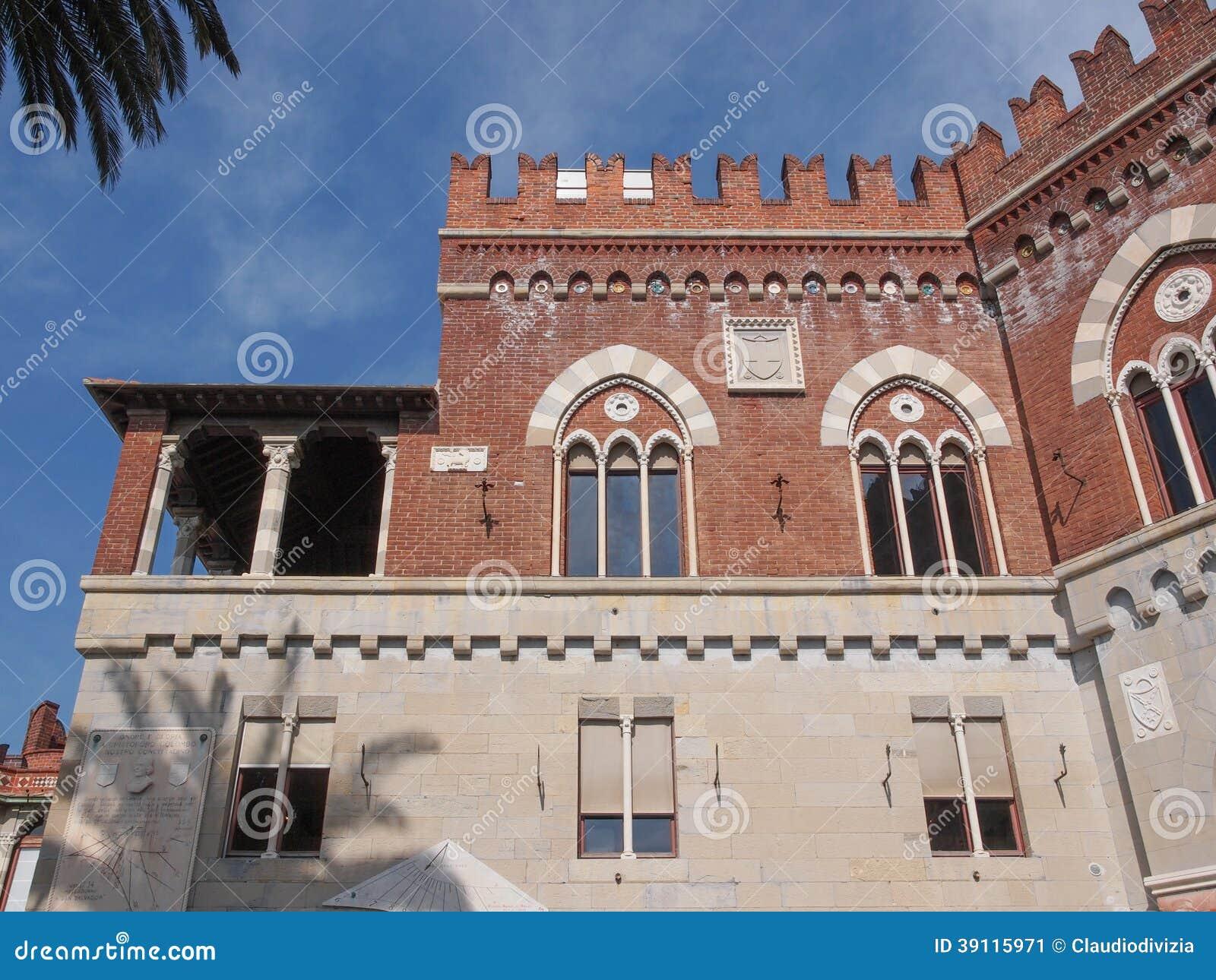 Albertiskasteel in Genoa Italy