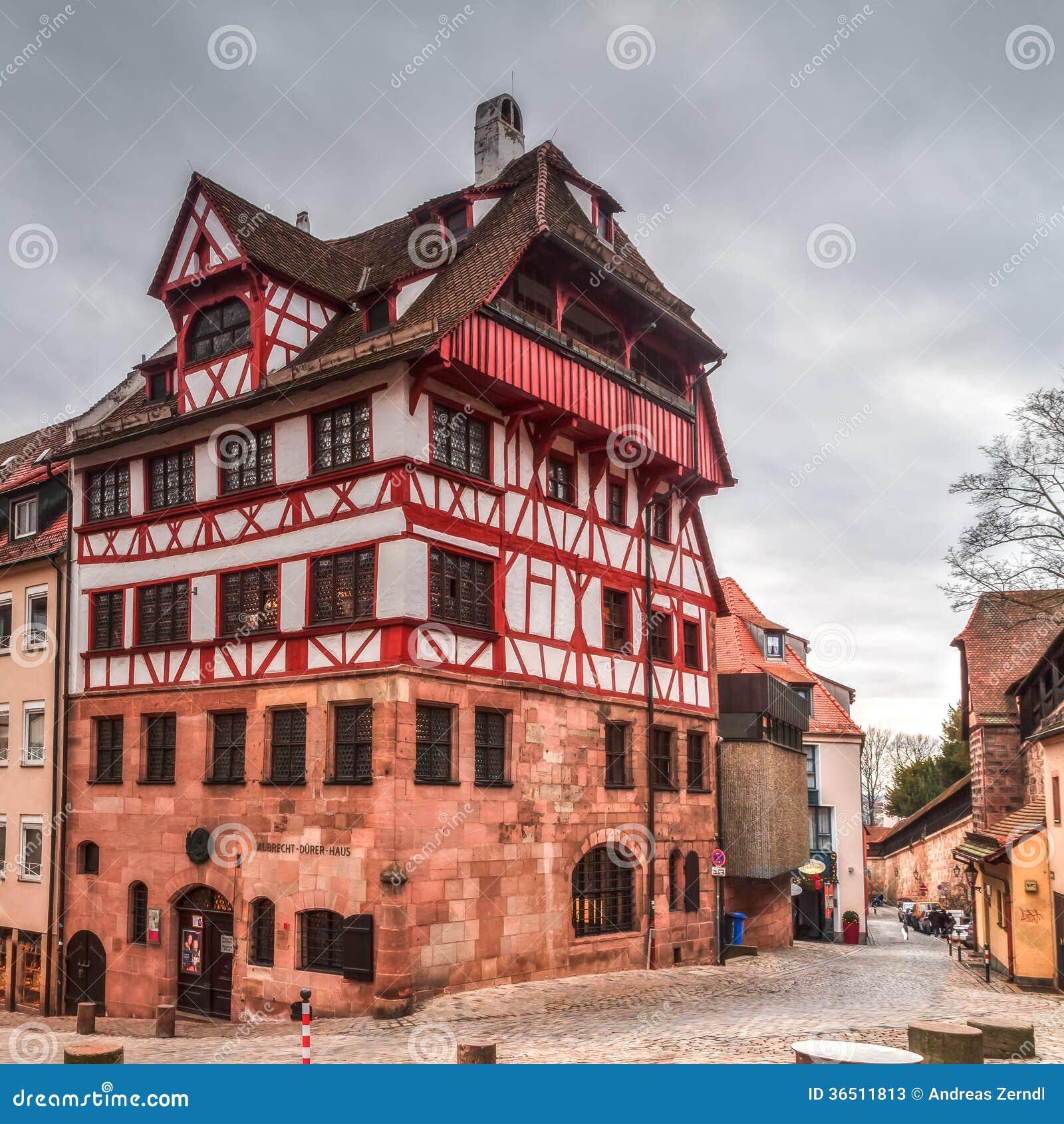 Albrecht Durer House historique à Nuremberg