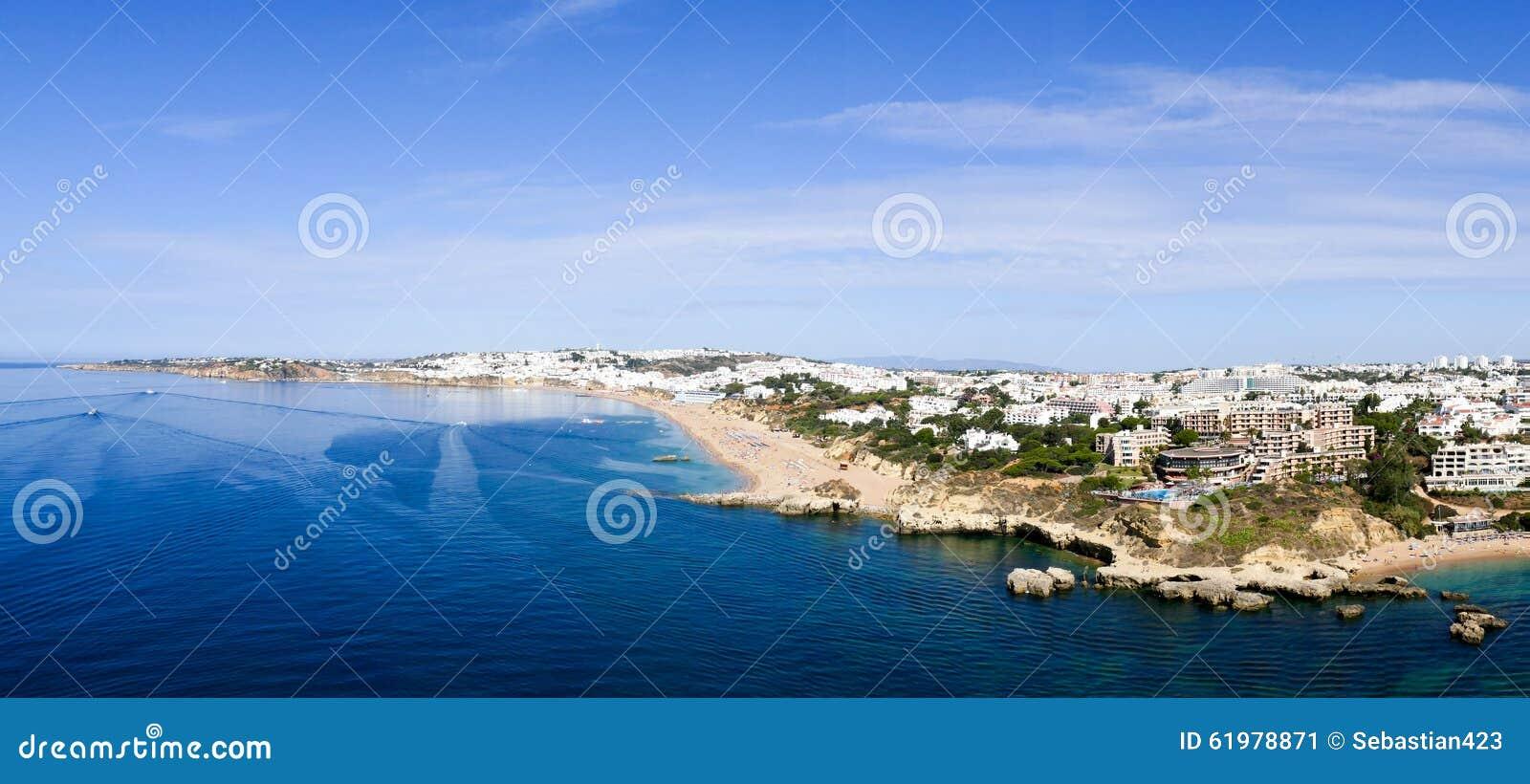 Albufeira Πορτογαλία - εικόνα πανοράματος
