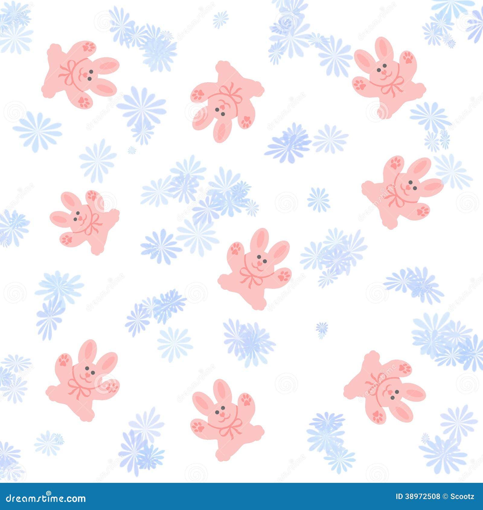 Album per ritagli rosa del coniglietto