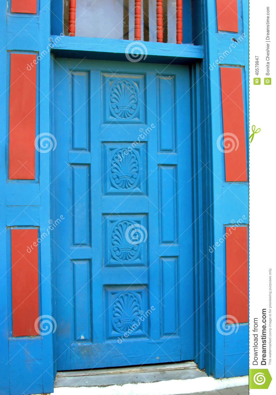 Royalty-Free Stock Photo. Download Albuquerque Painted Door ... & Albuquerque Painted Door stock image. Image of exit town - 40579847 pezcame.com