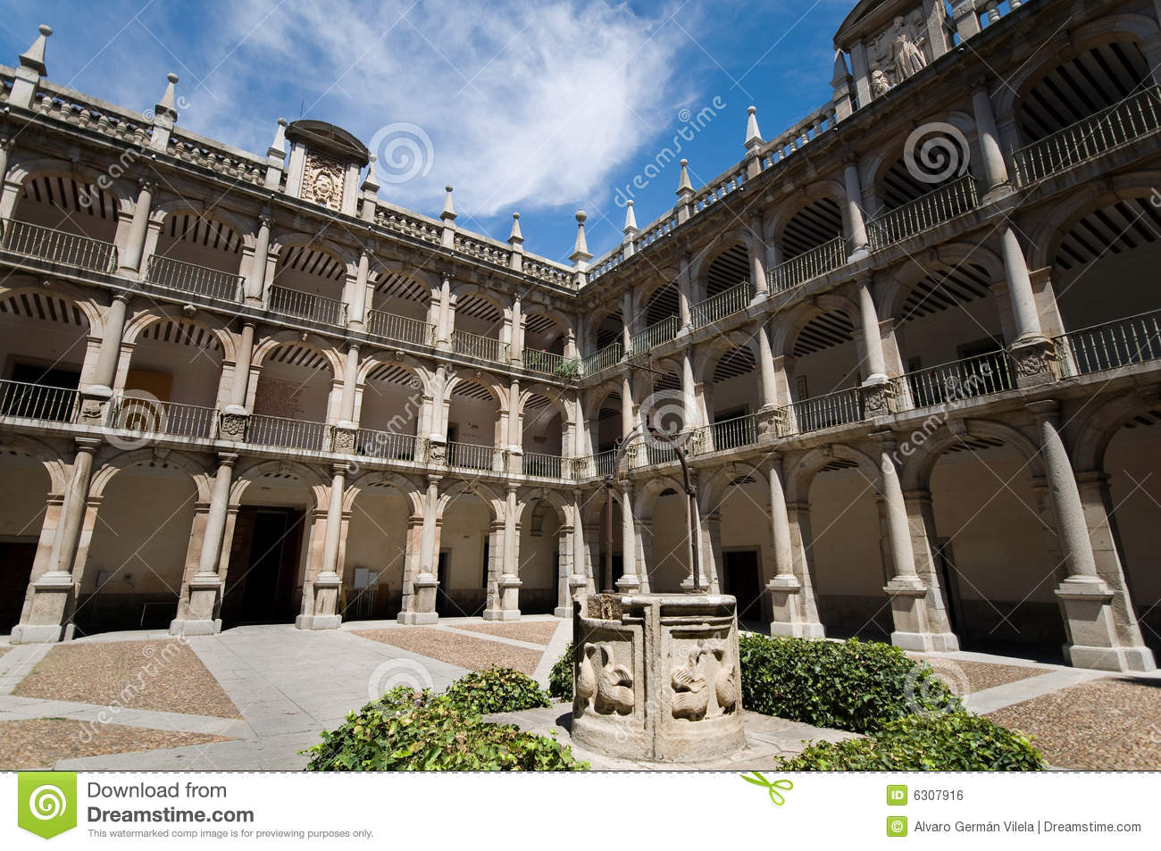Alcala de Henares Spain  city pictures gallery : ... de henares university herreriano style alcala de henares madrid spain