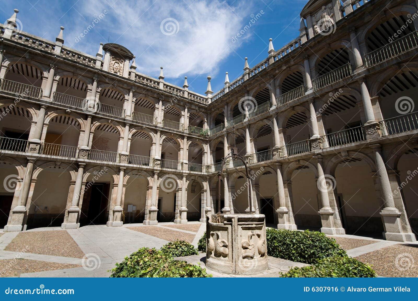 Alcala de henares university madrid spain royalty free - Casas regionales alcala de henares ...