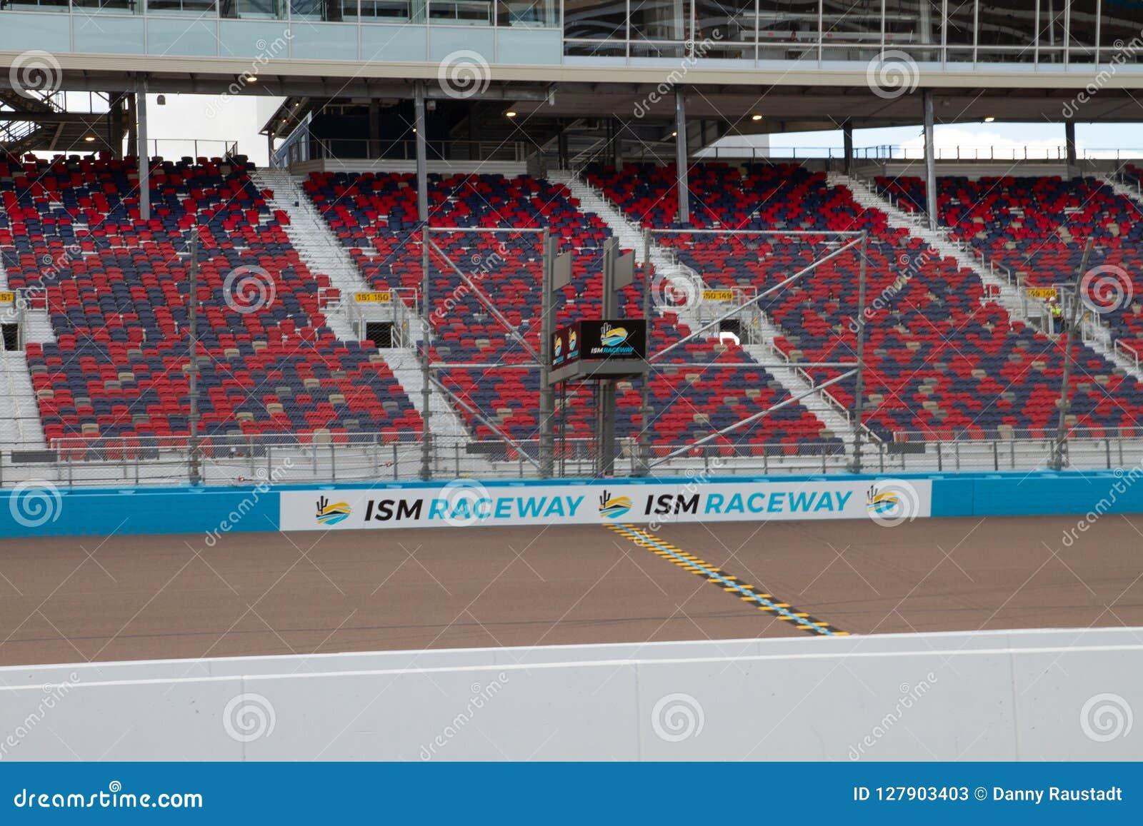 Alcantarilla del ISMO - Phoenix Nascar e IndyCar