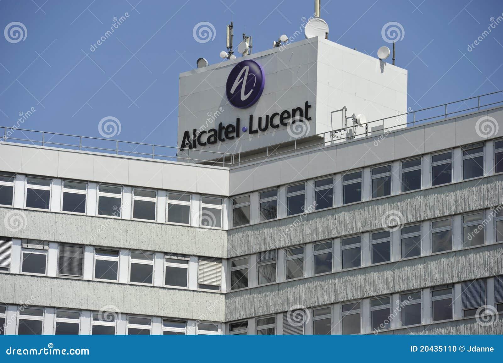 Alcatel Lucent Germany Stuttgart Editorial Image Image Of Modern
