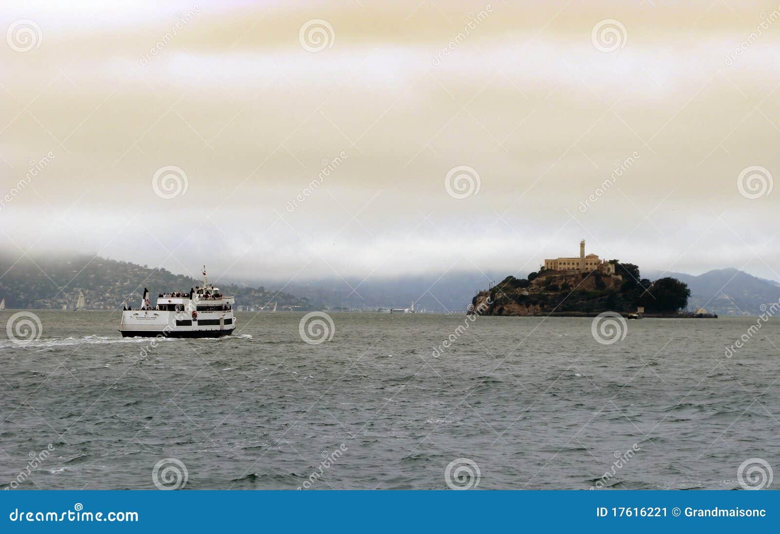 Alcatraz курсирует francisco san
