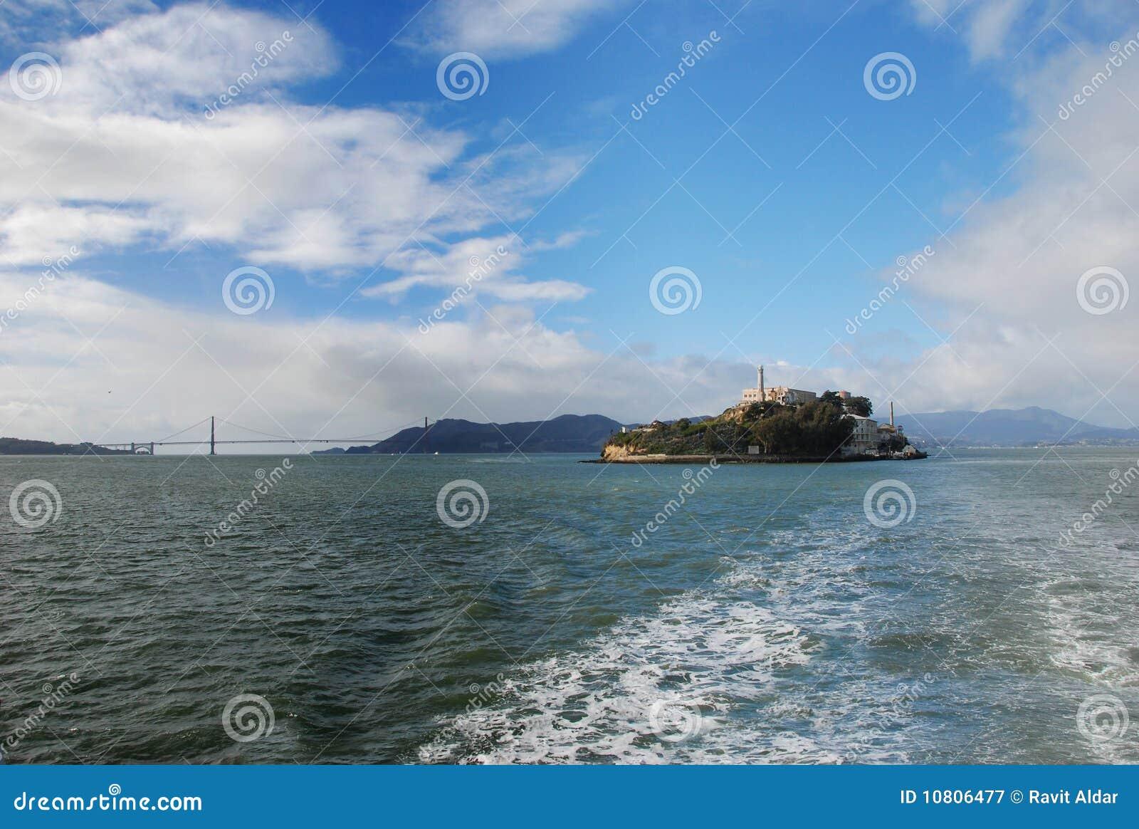 Alcatraz Insel und Br5ucke