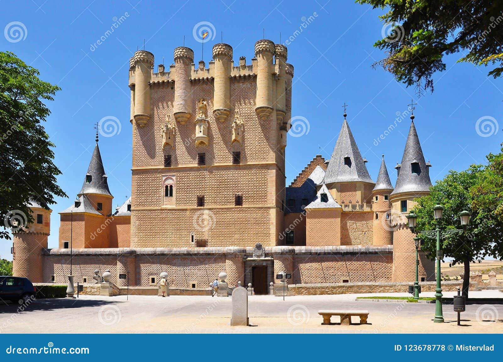 Alcazar de Segovia, España