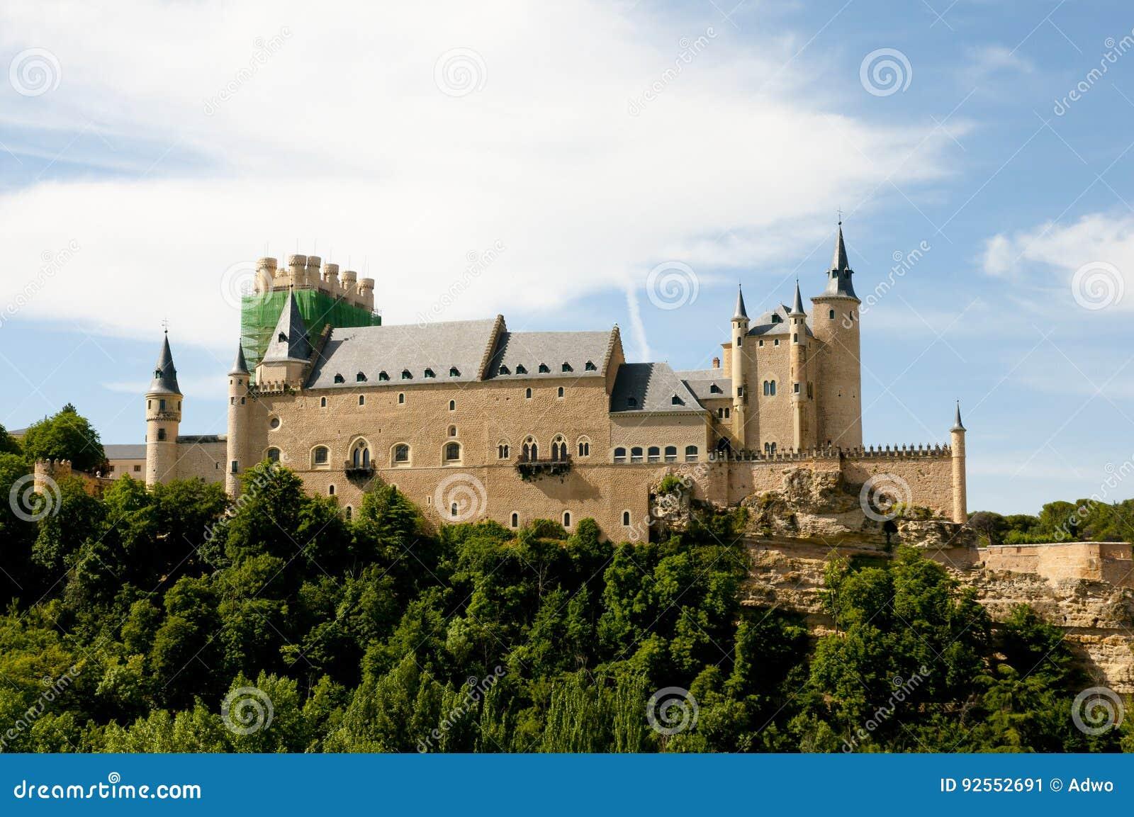Alcazar di Segovia - la Spagna